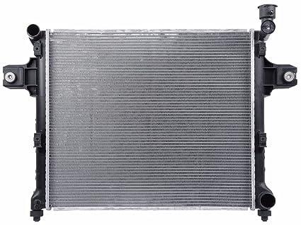 2006 jeep commander radiator replacement