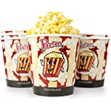 Nostalgia PPB600 4-Quart Reusable Popcorn Bucket - 6 Pack