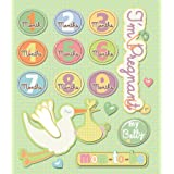 K&Company Pregnancy Sticker Medley