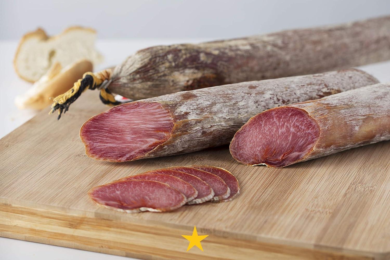 Estrella de Castilla, Lomo de Bellota Ibérico 50% Raza Ibérica - 400 gr.: Amazon.es: Alimentación y bebidas