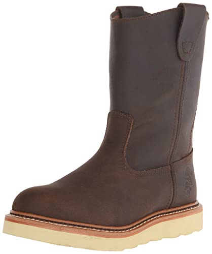 Mens Golden Retriever Men's 9955 Safety Toe Pull On Wedge Boot Outlet Online Sale Size 41