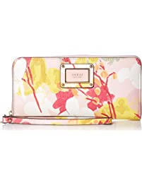GUESS Shannon Floral Large Zip Around Wallet