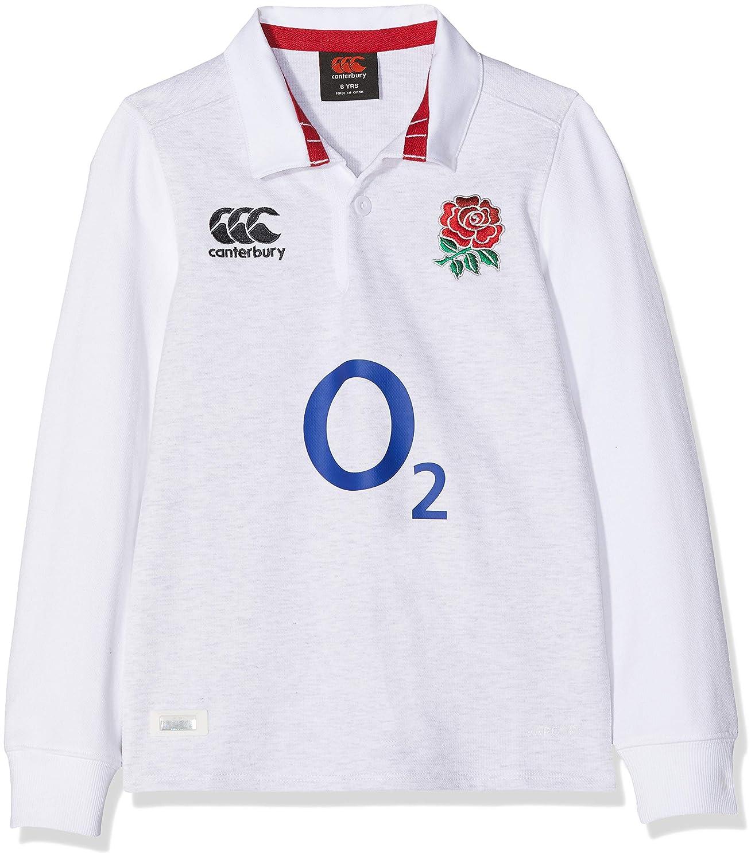 Canterbury - Camiseta clásica de Rugby para niños (Manga Larga ...