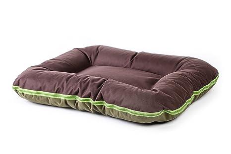 Verde Marrón Cama para perros Azor tamaño L XL XXL XXXL fabricado en la ue Perros