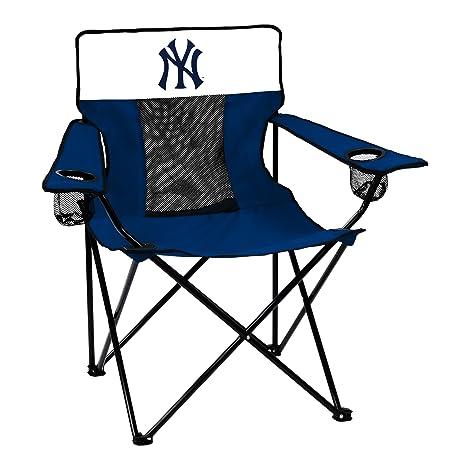MLB New York Yankees Elite Chair, Adult, Navy