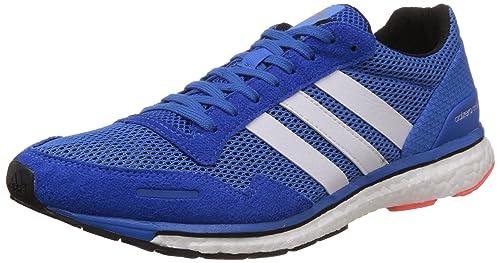 buy popular dfafc 2beeb Image Unavailable. Image not available for. Colour Adidas Mens Adizero  Adios 3 M Blue, Black ...