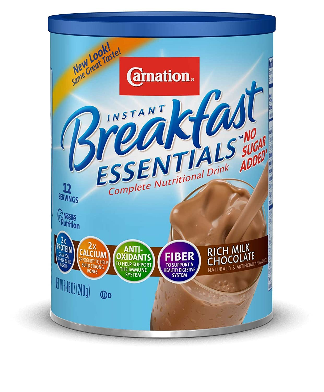 Amazon.com : Carnation Instant Breakfast Essentials Drink Mix ...