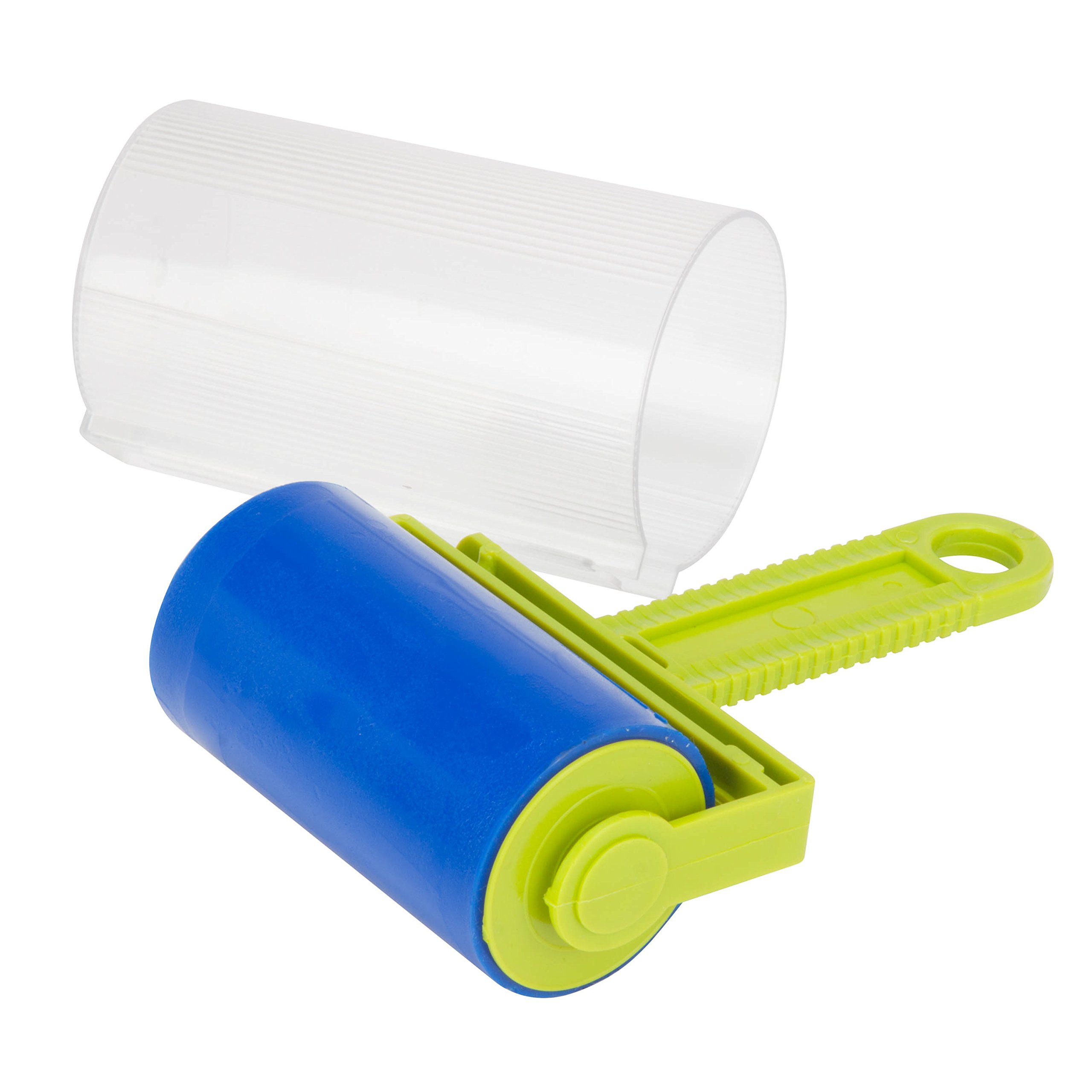 Honey-Can-Do LNT-06512 Rinse and Reuse Wide Travel Lint Roller with Cover
