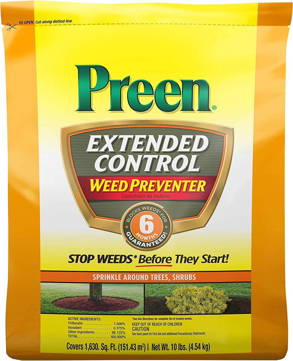 Extended Control Weed Preventer