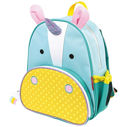 Skip Hop Zoo Little Kid and Toddler Backpack Ages 2+ Multi Eureka Unicorn