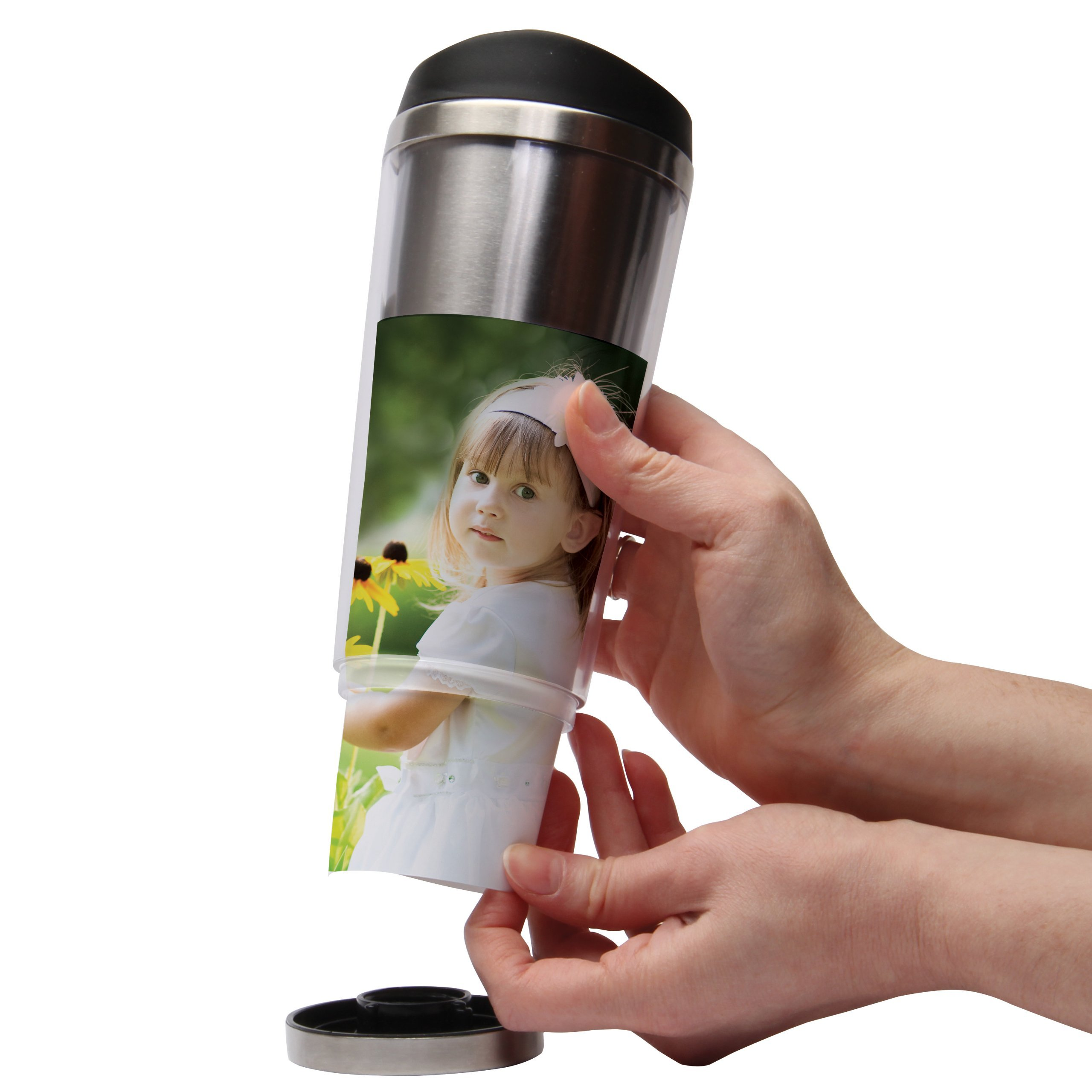 12 oz. Photo Stainless Steel Tumbler - Pack of 24