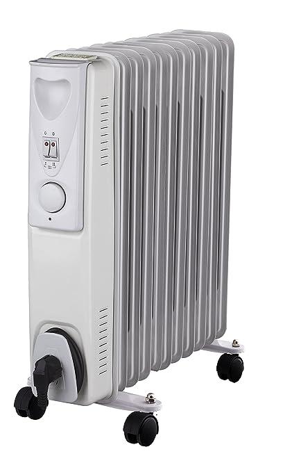 Daewoo Radiador de aceite 2500W en blanco: Amazon.es: Hogar