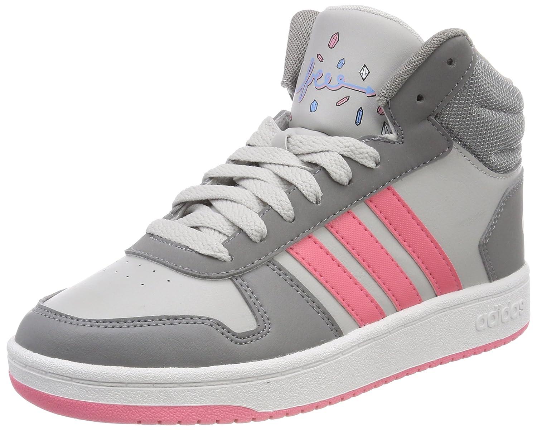 Adidas Vs Hoops Mid 2.0 K, Scarpe da Basket Unisex – Bambini Scarpe da Basket Unisex - Bambini AdidasDB1952Grigio