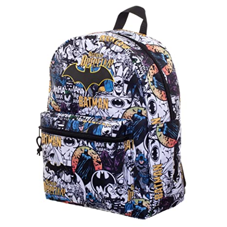 1b5b73776f9c Batman Comic 16 Backpack  Amazon.in  Sports