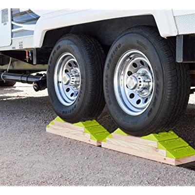 Hopkins 08200 Endurance RV Leveling System with Wheel Chock: Automotive