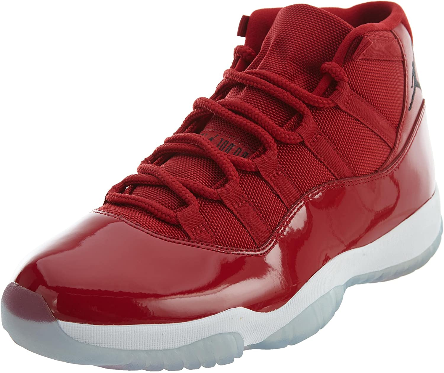 Amazon Com Jordan Men S Air 11 Retro Gym Red Black White