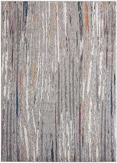 Luxe Weavers Serena Abstract Multi 8×10 Area Rug