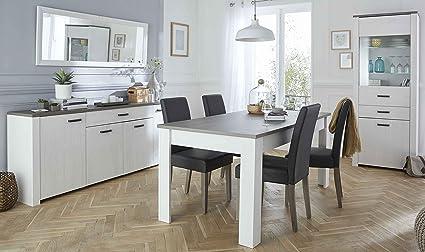 Miroytengo Pack Muebles salón Comedor diseño Elegante y Moderno ...