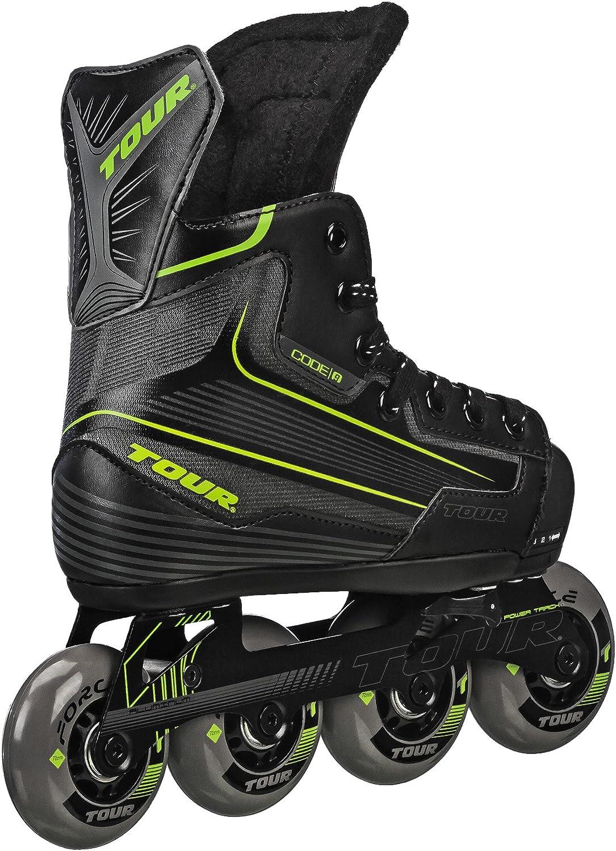 Tour Code 5 Roller Hockey Skate Junior Sizes **NEW IN BOX!!**