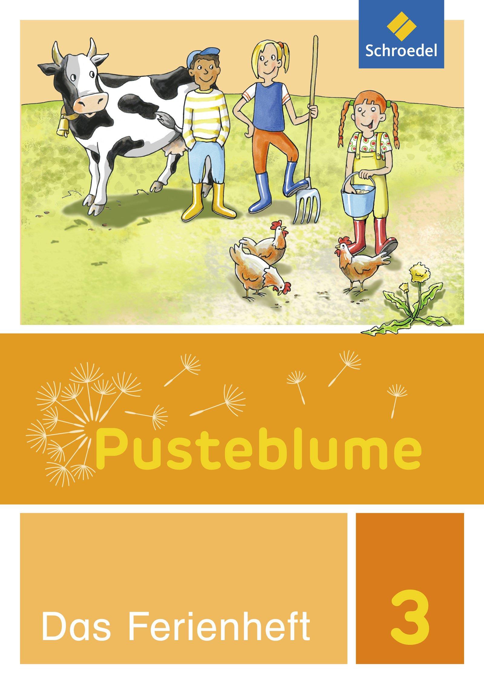 Pusteblume. Das Sprachbuch - Ausgabe 2015 Zusatzmaterial: Ferienheft 3