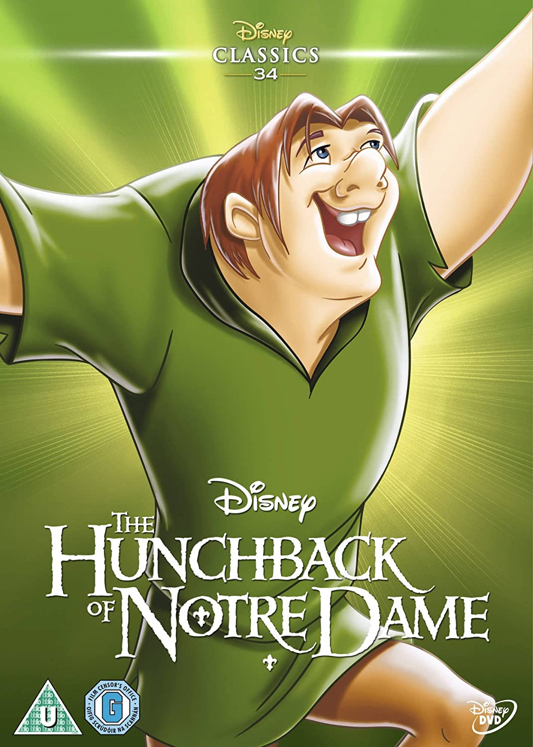 Amazon Com The Hunchback Of Notre Dame 1996 Limited Edition Artwork Sleeve Dvd Movies Tv