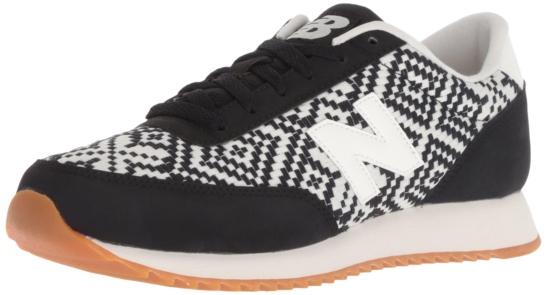 New Balance Women's 501v1 Sneaker, Black/White, 8 B US