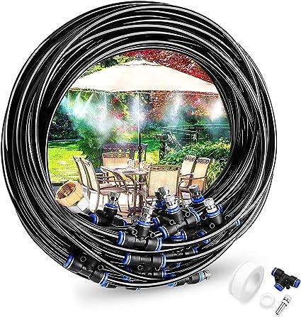 23M Drip Bewässerung Garten Schlauch Wasser automatische Spray Gewächshaus Kit