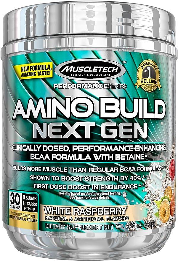 Muscletech Performance Series Amino Build Next Gen White Raspberry - 270 gr