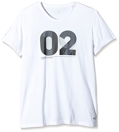 adidas Real Madrid CF 2015/2016 - Camiseta para Hombre, Color Blanco/Negro