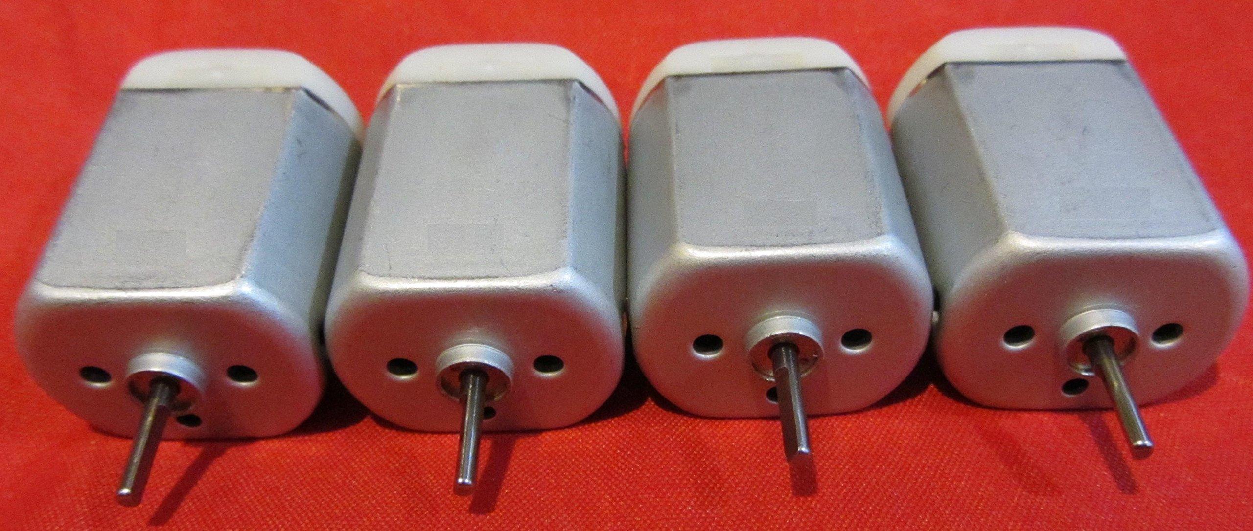4 Pack - 10mm Flat Shaft Central Door Lock Actuator Motor FC-280PC-22125 FLAT SHAFT, D Spindle, Power Locking Repair Engine