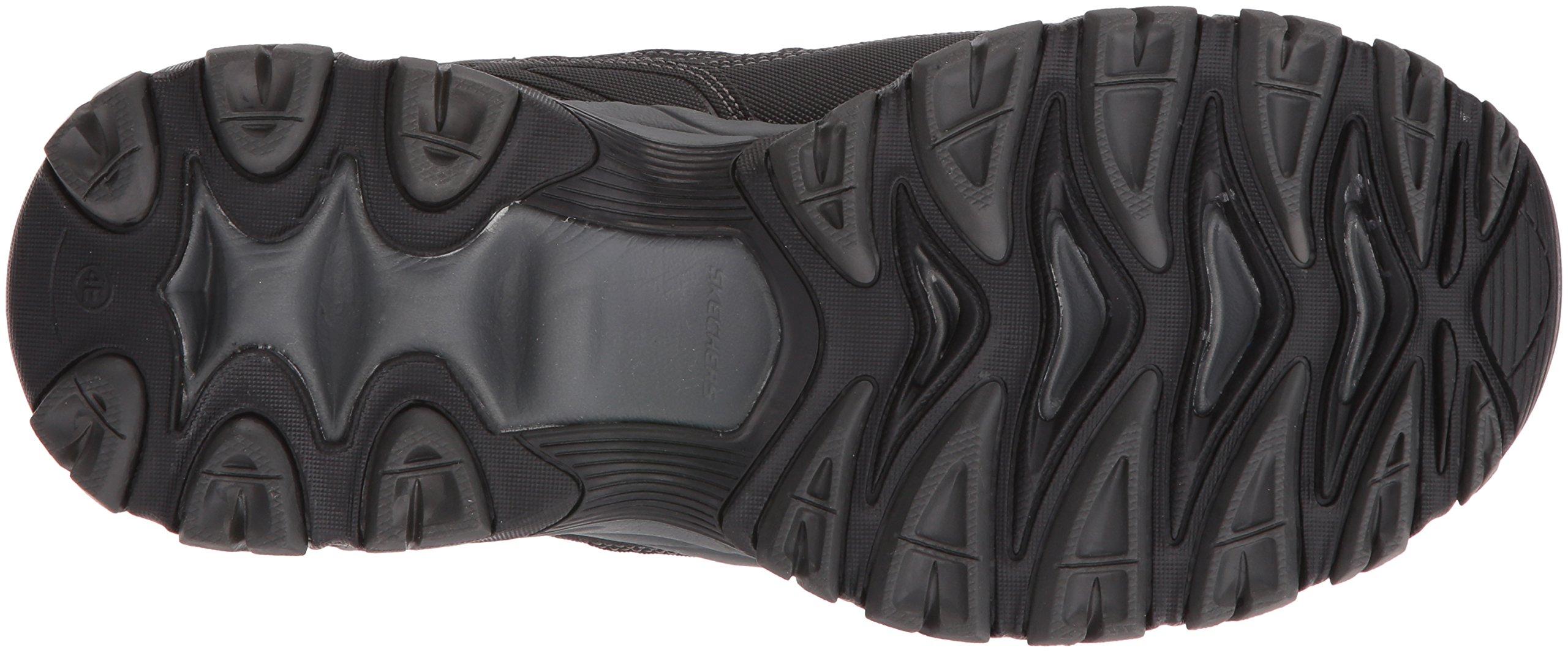 Skechers Men's AFTERBURNM.FIT Memory Foam Lace-Up Sneaker, Black, 6.5 M US by Skechers (Image #3)
