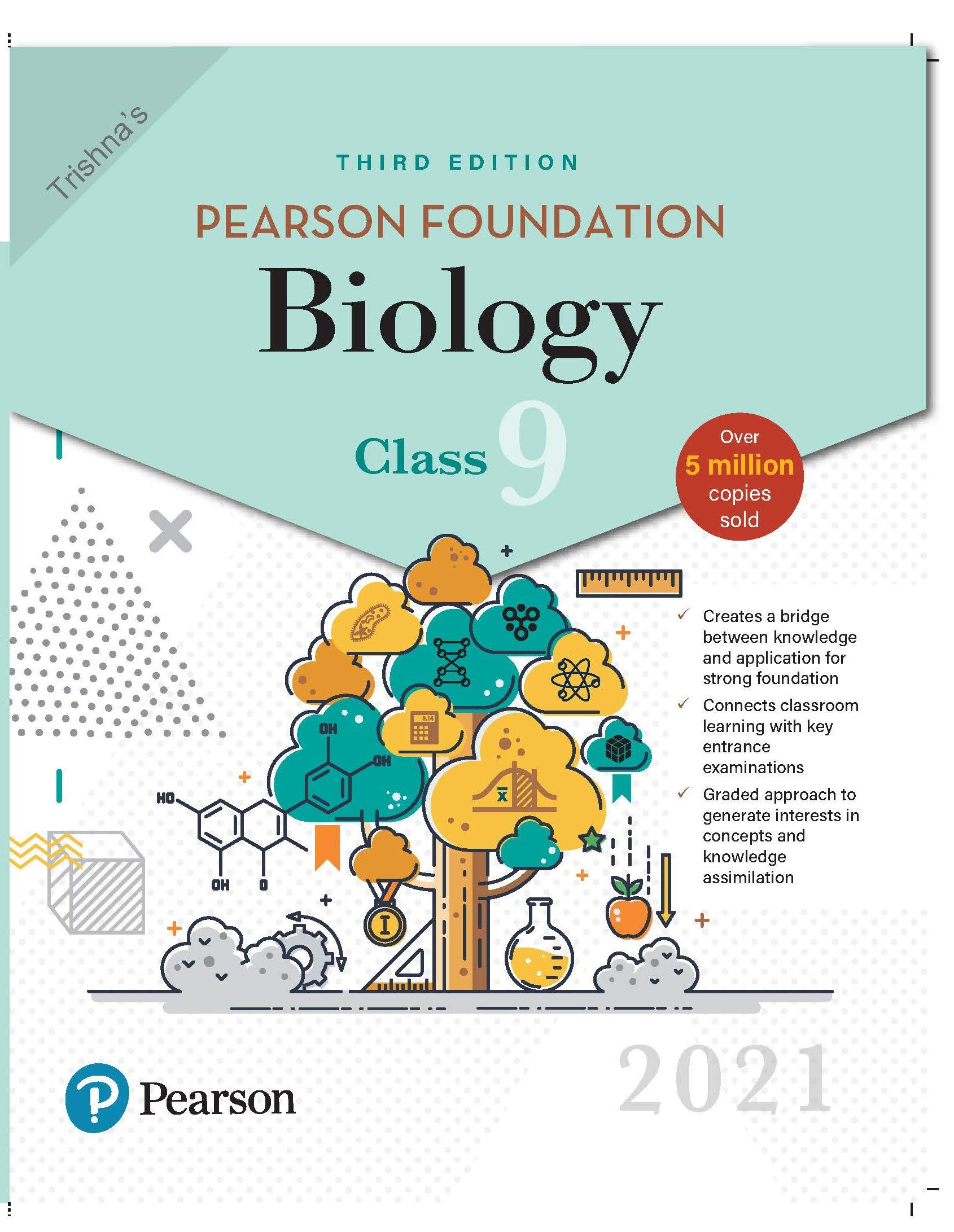 Pearson Foundation Biology | Class 9| 2021 Edition| By Pearson