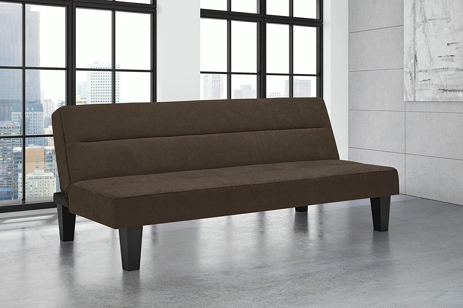 - Amazon.com: Modern Upholstered Sofa With Microfiber Cover, Quick