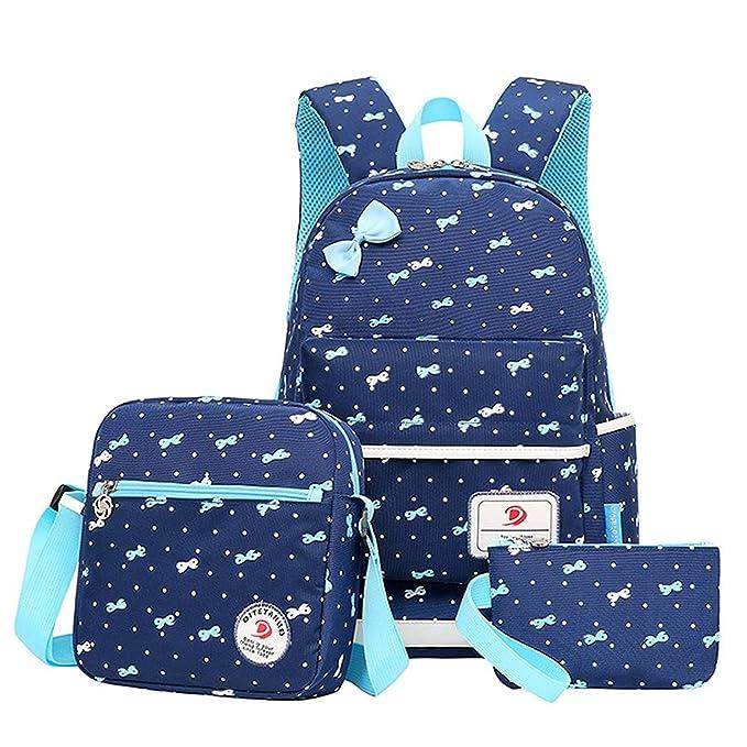 b80f5878ba6d my case diy store Polka Dot Cute Kids Book Bag School Backpack Handbag  Purse Girls Teen