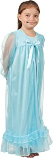 product image for Laura Dare Little Girls Frozen Ice Princess Long Sleeve Peignoir Set, (2T - 6X)