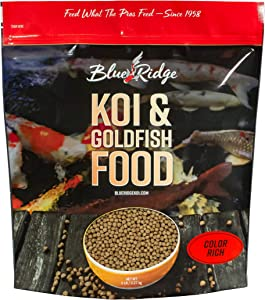 Blue Ridge Fish Food, Color Rich Formula 3/16