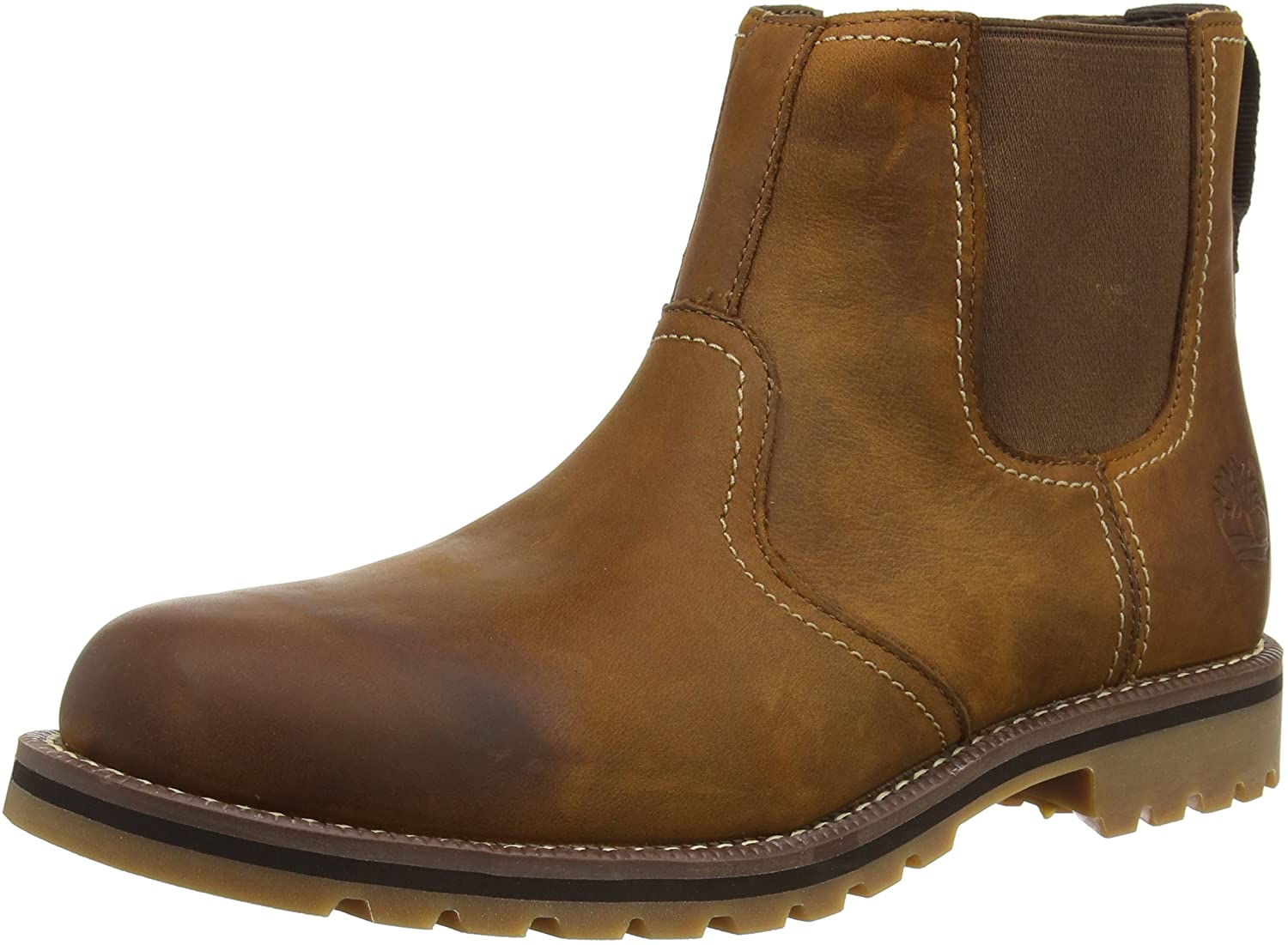 Timberland Mens Larchmont Chelsea Leather Boots