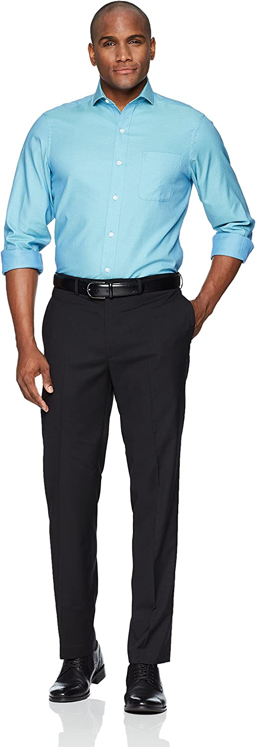 BUTTONED DOWN Mens Classic Fit Cutaway-Collar Supima Cotton Dress Casual Shirt Brand