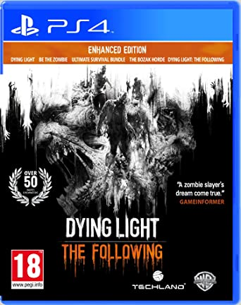 Dying Light: The Following Enhanced Edition (PS4): Amazon co