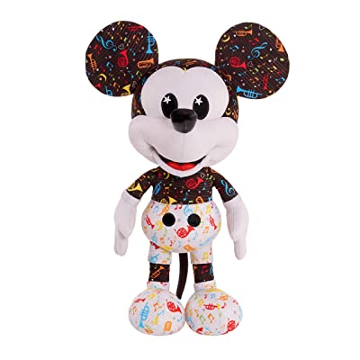 Disney Year of The Mouse Collector Plush - Band Leader Mickey, Multicolor: Toys & Games