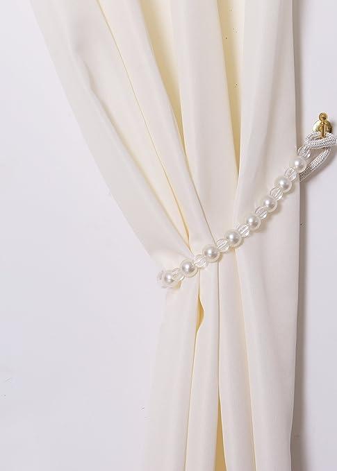 2x Abrazaderas para Cortina, Cuerdas para Sujetar Cortinas, Accesorios Decorativos para Visillos, TipoA