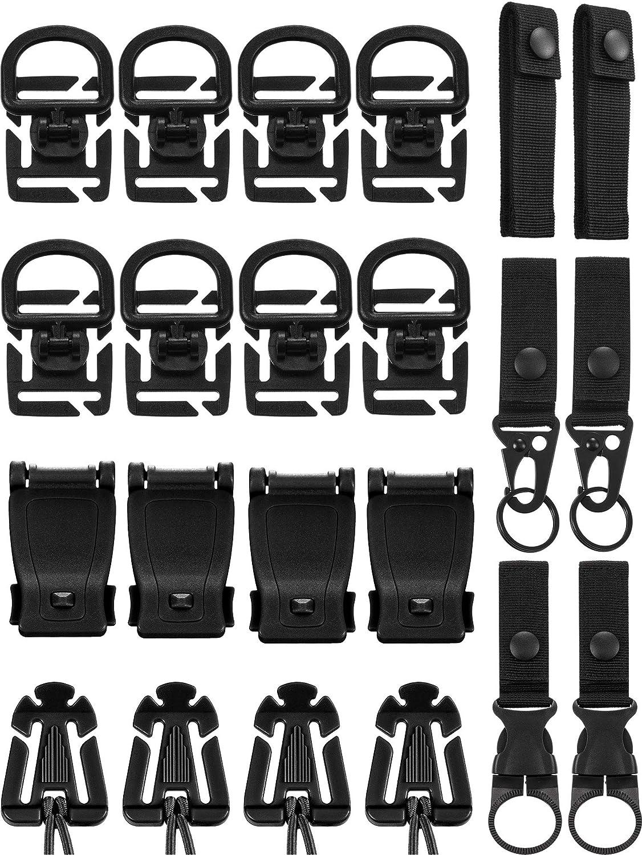 4PCS Web Dominator Multi-purpose Tactical Management Tool Backpack Strap Buckle