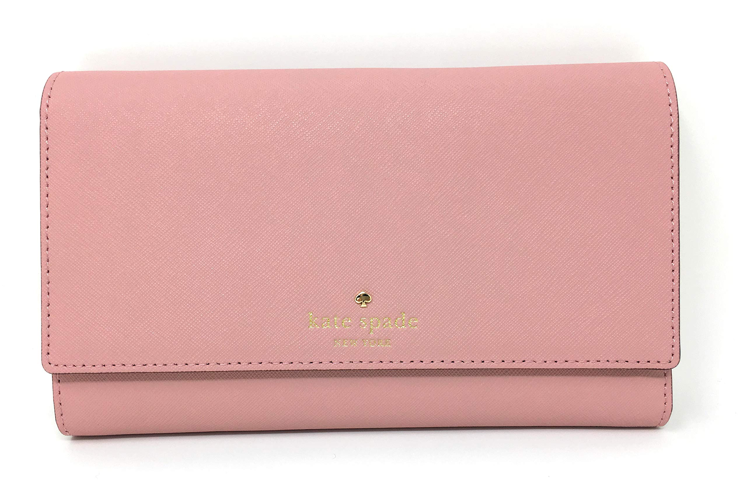 Kate Spade Mikas Pond Phoenix Travel Wallet Trifold Pink Bonnet