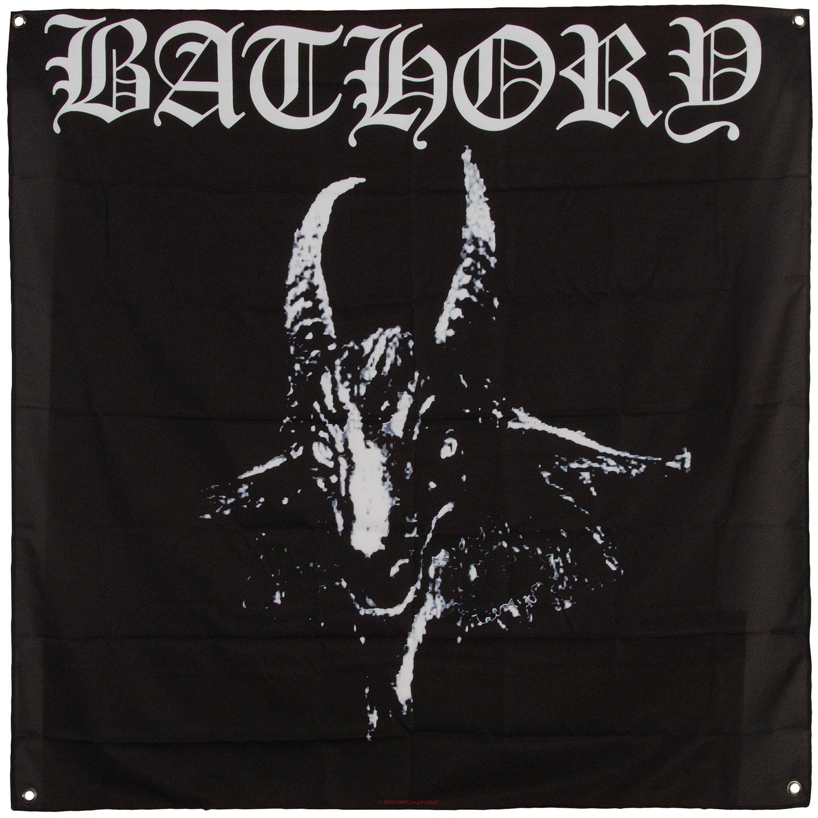 Bathory Goat Flag Fabric Poster 48 x 48in