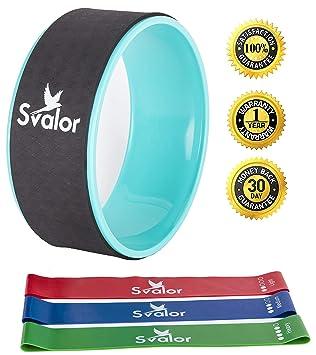 Amazon.com : Svalor Yoga Wheel Strongest, Most Comfortable ...