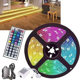LED Strip LED Streifen RGB LEDs Band IP65 Wasserdicht 12V LED Klebestreifen APP