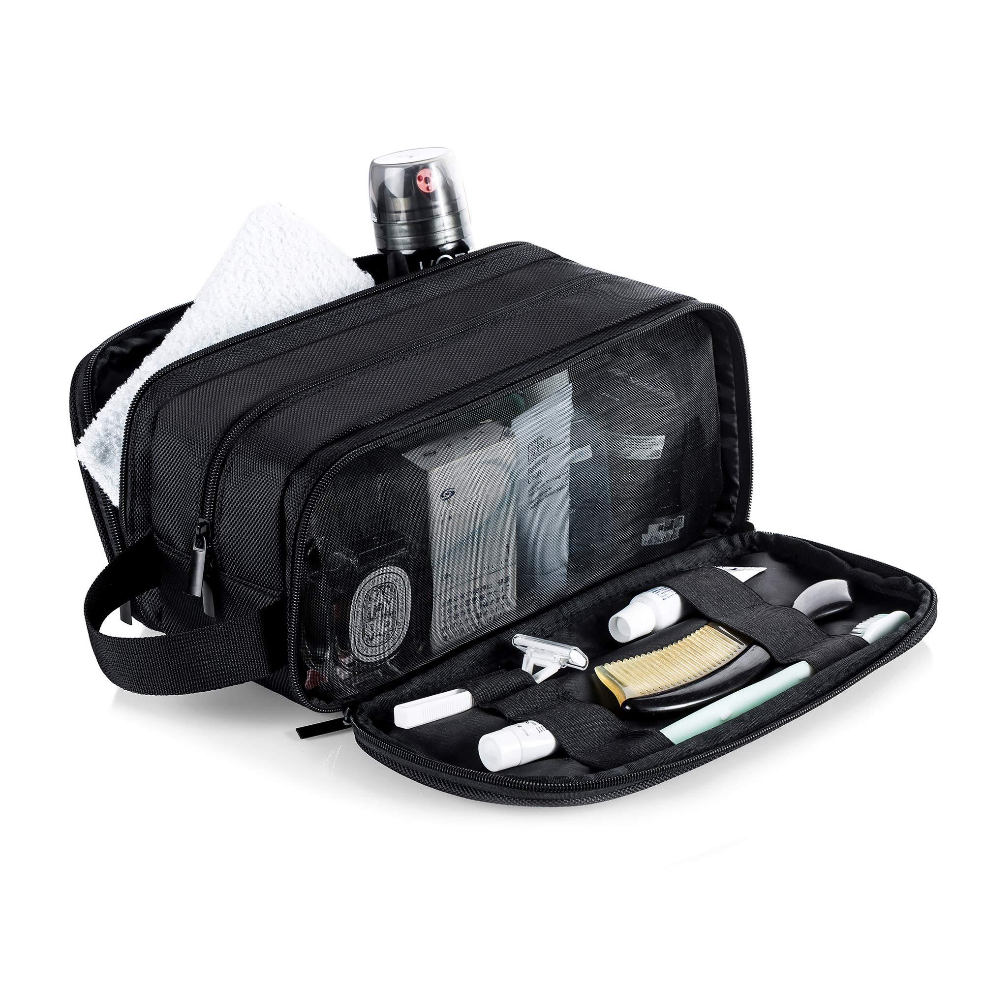 Men Wash Gym Shaving Toiletry Bag Travel Organizer Shaving Kit Make up Bag