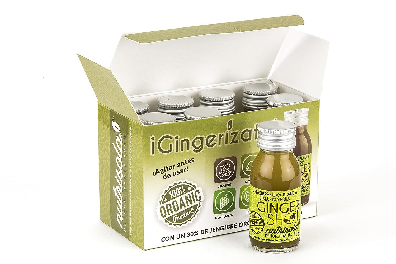 Ginger Shot 100% Orgánico, un 30% de Zumo natural de Jengibre exprimido (Caja Variada, Caja 8 unidades): Amazon.es: Alimentación y bebidas