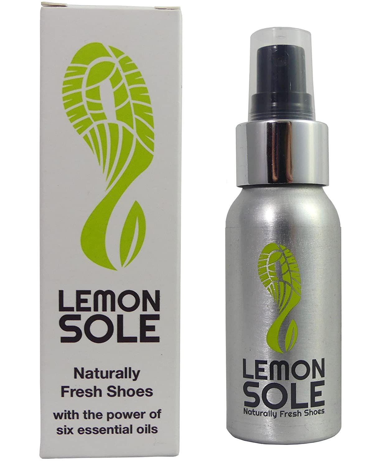 Lemon Sole - The POWERFUL shoe spray with 6 essential oils. Great for Sport. 100% Natural