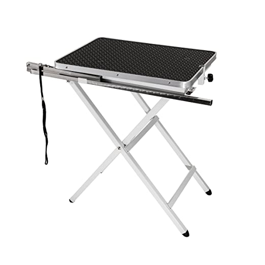 Flying Pig Grooming Pet Dog Portable Table, Black, Mini Size/24